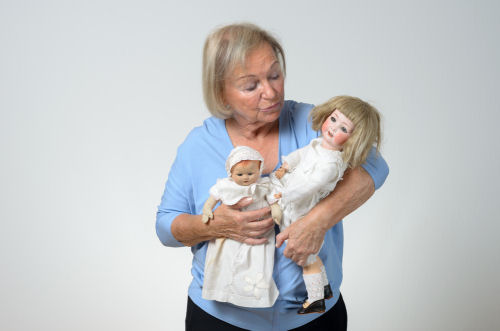 Elderly Doll Therapy in Westchester New York